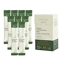 Mặt nạ ngủ dạng thạch Collagen nâng cơ chính hãng YANJIAYI (Hộp 20 gói)