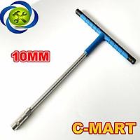 Tuýp chữ T C-MART F0091-10 10mm cán bọc nhựa mềm