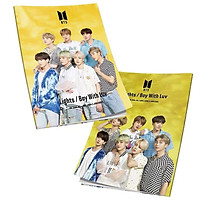 Mini Book BTS Lights Boy With Luv
