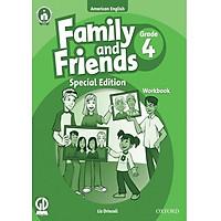 Bộ Family and Friends 4 (Bọc kính, dán nhãn)