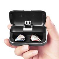 Tai Nghe Không Dây Bluetooth 5.0 True Wireless Mifo O5 - Màu Xám - Phiên Bản Tiêu Chuẩn - Dock Sạc 2600 mAh - Chống Ồn CVC 6.0 – Kháng Nước IPX 7 – Hàng Chính Hãng