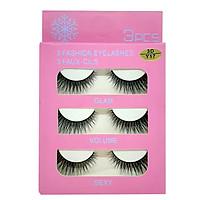 Mi giả 3 Fashion Eyelashes 3 Faux - Cils (kiểu mi 3D/Y17)