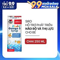 Siro hỗ trợ phát triển não bộ và thị lực cho bé Doppelherz Aktiv Kinder Omega-3 Syrup (Chai 250ml)