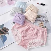 Combo 5 Quần Lót Nữ xuất Nhật 100% Cotton Sợi Tre Kháng Khuẩn Tốt