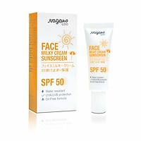 Kem Chống Nắng Dành Cho Da Mặt Nagano 20ml - Face Milky Cream Sunscreen Nagano 20ml - Chỉ số SPF50+ giúp chống nắng hiệu quả và bảo vệ da chắc khỏe