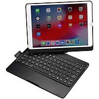 Vỏ bàn phím hợp kim nhôm có 7 màu đèn - xoay 360 độ dành cho ipad 10.2 inch