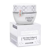Kem Dưỡng Trắng Da Và Tái Tạo Da Tinh Chất Collagen 3W Clinic Collagen Whitening Cream 60ml - Hàn Quốc Chính Hãng