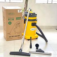 Máy hút bụi khô và ướt HiClean HC30P (thùng nhựa ABS cao cấp, dung tích 30L) - Hàng chính hãng