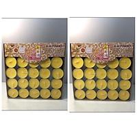 Combo 2 hộp Nến Bơ 100 viên không mùi không khói đảm bảo nến bơ sạch 100% TP1078