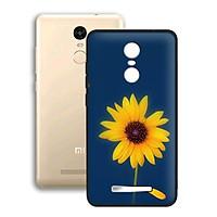 Ốp lưng mẫu đẹp cho điện thoại Xiaomi Redmi Note 3 - Viền dẻo - 02079 0327 SUNFLOWER06 - Hoa Hướng Dương - Hàng Chính Hãng