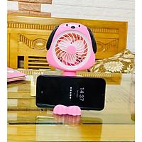 Qụat sạc tích điện mini hình có giá để điện thoại ( giao ngẫu nhiên )