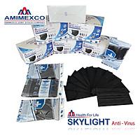 Khẩu trang y tế Skylight 4 lớp kháng khuẩn- Màu ĐEN – Hộp 50 cái