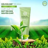 Sữa rửa mặt trà xanh The Nature Book ngăn ngừa mụn và lão hóa da Green Tea Foam Cleanser 120g