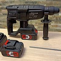 máy khoan đục bằng pin 21v  dùng khoan bê tông, khoan tường mạnh mẽ