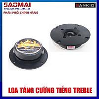 Combo 2 Loa treble dome Sankio -  từ lớn 70mm - Hàn sẵn 2 tụ và 2m dây loa - Hàng chính hãng