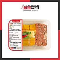 [HCM] - Canh bí đỏ thịt heo xay 500g - giao nhanh