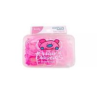 Hộp thun đàn hồi cột tóc màu kẹo ngọt cho bé yêu – P061
