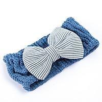 Băng đô dây đeo tóc gắn nơ MINI GOOD - MG112 (Màu ngẫu nhiên )