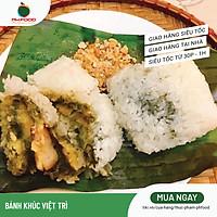 [Chỉ giao HN] - Bánh Khúc Việt Trì - Túi 10 Cái Trắng - Đông Lạnh