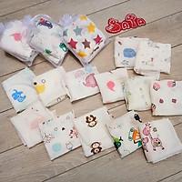 Set 10 khăn sữa túi quà cho bé