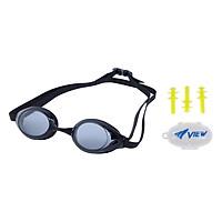 Bộ Kính Bơi View Pirana V220A Và Nút Bơi Nhét Tai EP405 - Hàng Chính Hãng