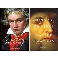 Combo Sách Vĩ Nhân Của Nhân Loại : Beethoven - Âm Nhạc & Cuộc Đời + Leonardo Da VinCi