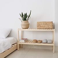 Kệ giày dép 2t-800 màu gỗ tự nhiên- Twin Home
