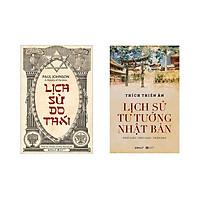 Combo Lịch Sử Hay: Lịch Sử Tư Tưởng Nhật Bản + Lịch Sử Do Thái (Bìa Cứng)