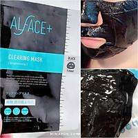 (Hộp 4 cái) Mặt Nạ Than Tre Siêu Dưỡng Ẩm Nhật Bản Alface Clearing Mask, Se Khít Lỗ Chân Lông, Làm Sáng Da, Bảo Vệ Da Với 17 Loại Axit Amin, Tinh Chất Nhau Thai, Vitamin C, E, Chiết Xuất Lên Men