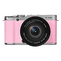 Fujifilm X-A2 Pink + 16-50mm - Hàng Chính hãng