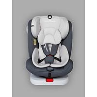 Ghế ô tô 2 chiều CHUẨN ISO 9001, điều chỉnh 4 tư thế từ nằm tới ngồi và có thể điều chỉnh độ cao 7 cấp cho bé từ 0-12 tuổi (xám)