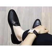 Giày Da nam cực chất xả kho giá gốc- giày lười nam-mã G004