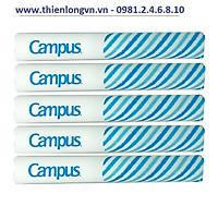 Combo 5 cuộn bọc vở nylon khổ B5 Campus NC-NTB-10-3