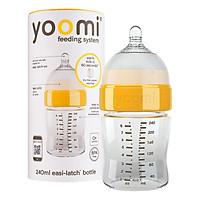 Bình Sữa Cao Cấp PP Yoomi (240ml) - Cổ Vàng