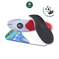 Lót giày thể thao 4D ốp nhựa trợ lực gan bàn chân dùng mang giày đá bóng, bóng chuyền, bóng rổ - buybox - BBPK179