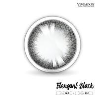 Lens cho mắt thở Hàn Quốc đen thanh lịch VIVIMOON Elegant Black 13.1mm