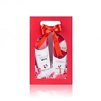 Combo Sữa rửa mặt trắng da sạch nhờn, ngừa mụn gồm Sữa rửa mặt Beauskin Apple Pure Cleansing Foam - Tẩy da chết Beauskin Apple White Peeling Gel - Hàn Quốc Chính Hãng