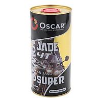 Nhớt xe côn tay tổng hợp toàn phần Oscar 10W40 SN Jade 4T Super Fully Synthetic 0.8L