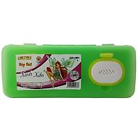 Hộp Bút Nhựa Kid Kit Xinh Xắn HB-006 - Màu Xanh Lá