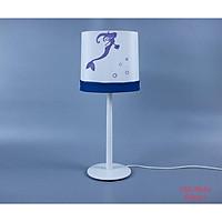 Đèn bàn gỗ nàng tiên cá, đèn trang trí nội thất, đèn để bàn phòng ngủ hàng chính hãng.