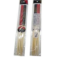 Bộ 2 đôi đũa xào nấu  bằng tre chiều dài 33cm nhập khẩu nhật bản