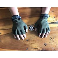 Găng tay 5.11 ngắn ngón, găng tay chống nắng, đi xe đạp, xe máy