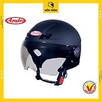 Nón bảo hiểm ANDES 109 có kính đi xe máy chính hãng