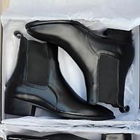 Giày nam cao cấp &(4cm Heel Chelsea Boots Classic)