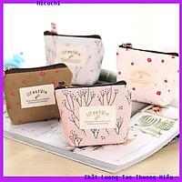 Túi Mỹ Phẩm Ví Nữ Mini Bop Life Style Vải Canvas Cực Đẹp Sang Chảnh New MP01_Micochi