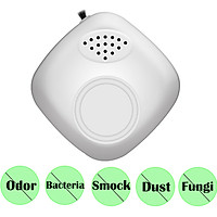 Portable Air Purifier Smoke Purifier Mini USB Air Cleaner Negative Ion Generator Wearable Low Noise Air Freshener