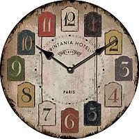 Đồng hồ treo tường Vintage Phong cách Châu Âu hình tròn DH14 Số cổ