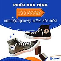 HCM [E-voucher] - Phiếu quà tặng 100K áp dụng khi đặt dịch vụ Chăm sóc giày từ 800K tại EXTRIM SHOE CARE & MORE