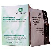 Sữa Tẩy Tế Bào Chết Willendrof Exfoliating Plus Moisturize Pink Milky Lotion 30ml (Hộp 15 gói)