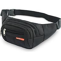 Túi đeo chéo bao tử nam nữ Sport thời trang  ngang hông  bụng đa năng 4 ngăn
